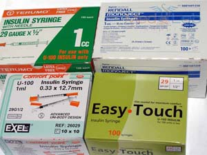 Insulin Syringes (Unrestricted)