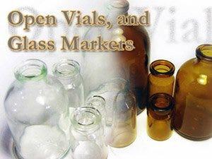 Open Serum Vials