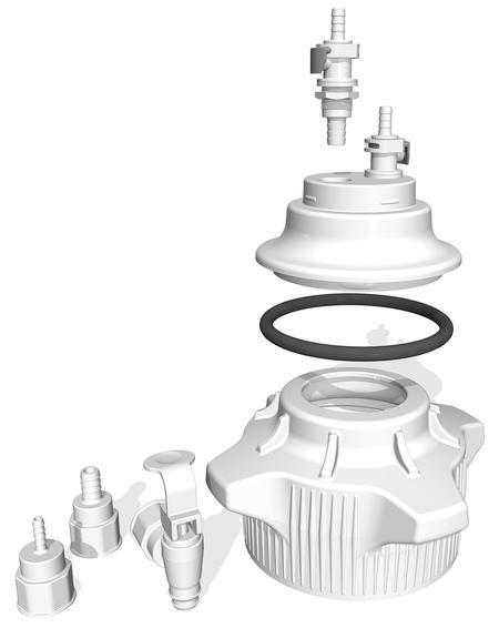 Versa Cap & Vacuum Bottle Adapters