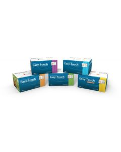 Easy Touch Diabetic Syringes: 27g, 28g, 29g, 30g, and 31g