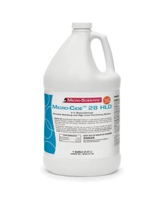 Micro-Cide 28 HLD, 3% Glutaraldehyde Reusable Sterilizing and High Level Disinfecting Solution, 1 Gallon
