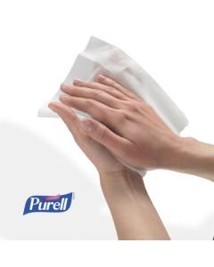 Purell Hand Sanitizing Wipes, 100 wipes per Canister