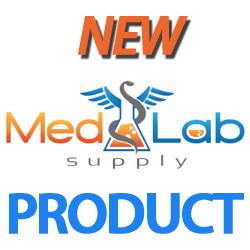 RLS 10ml Tubular Clear Glass Serum Vials by Med Lab Supply